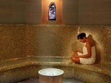 Eucalyptus steam room at Spa InterContinental Los Angeles-Century City
