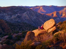 Rocky Peak Park at sunset