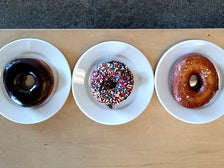 Donuts at Cofax Coffee