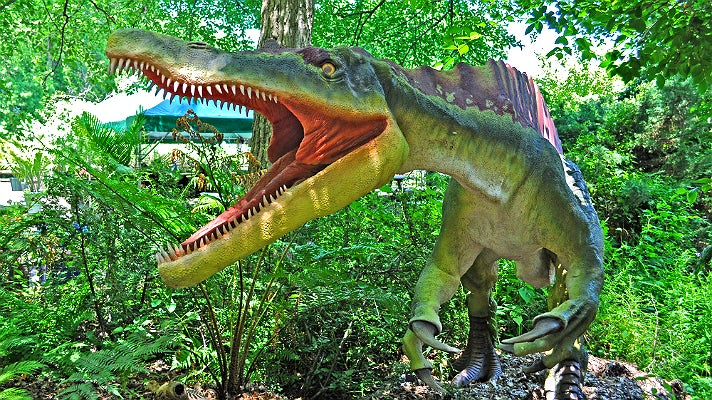"Suchomimus from ""Dinosaurs: Unextinct at the L.A. Zoo"""