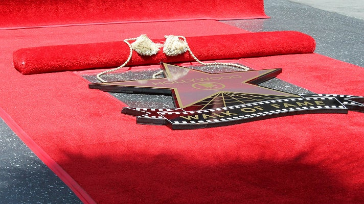 Hollywood Walk of Fame star ceremony