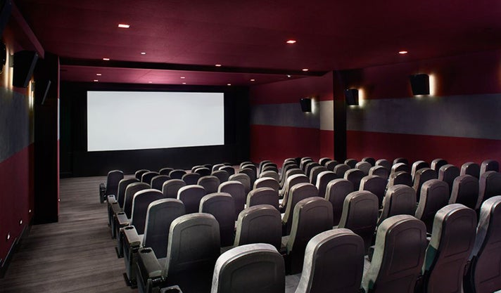 London West Hollywood Screening Room