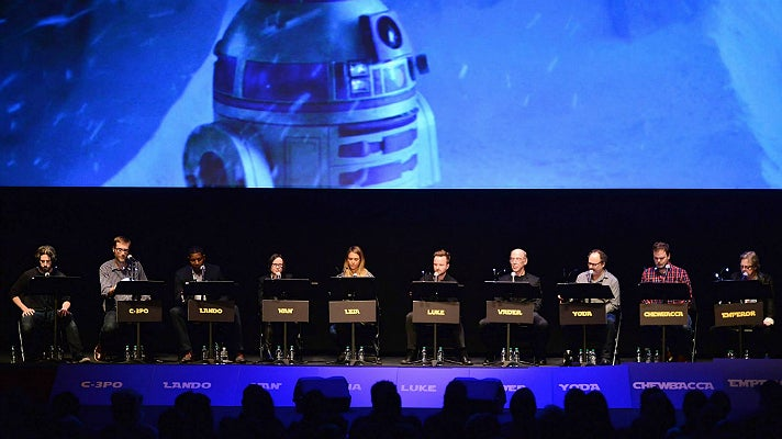 "Film Independent Live Read of ""The Empire Strikes Back"""