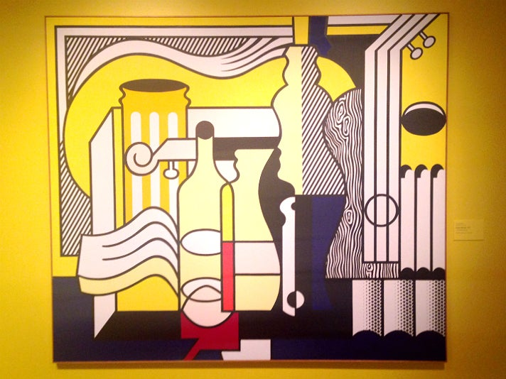 "Roy Lichtenstein, ""Purist Still Life"" (1975) at Skirball Cultural Center"