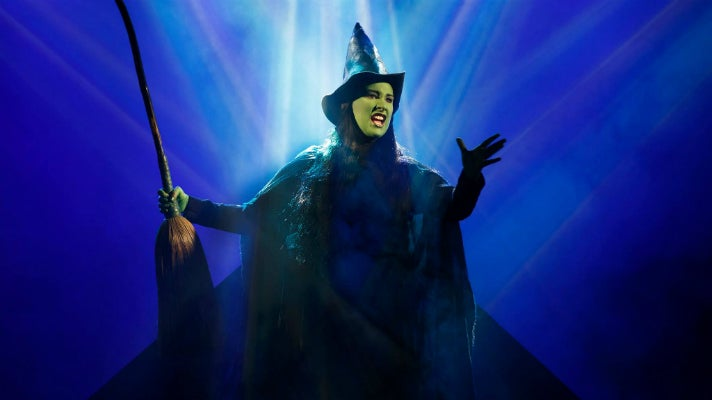 "Emma Hunton in ""Wicked"" at The Pantages Theatre"