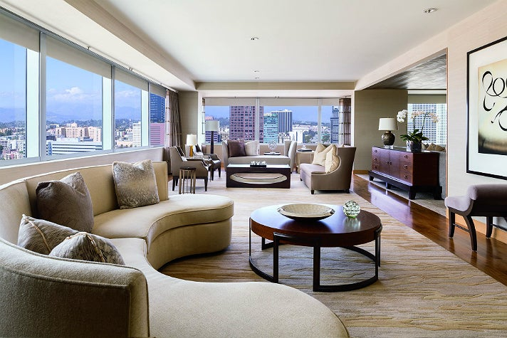 Ritz-Carlton Suite at The Ritz-Carlton Los Angeles