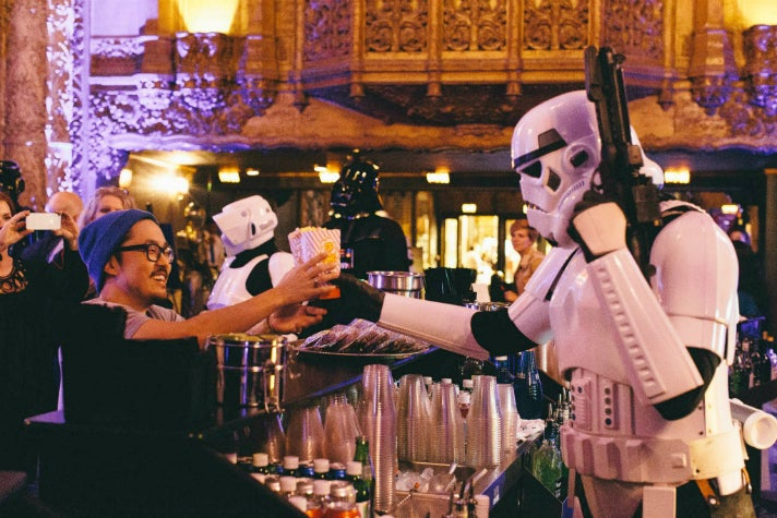 "Live read of ""The Empire Strikes Back"" at The Theatre at Ace Hotel"