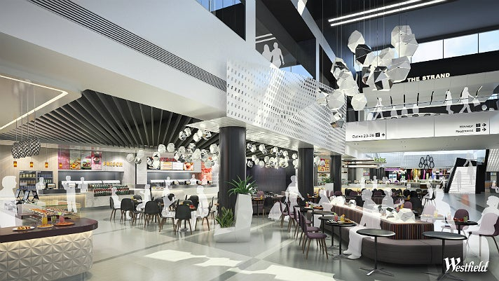 Dining Terrace in Terminal 2 at LAX