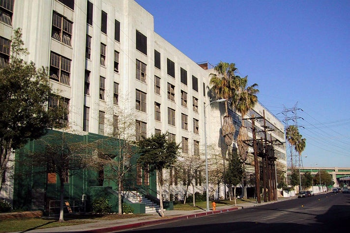 Exterior of Lincoln Heights Jail