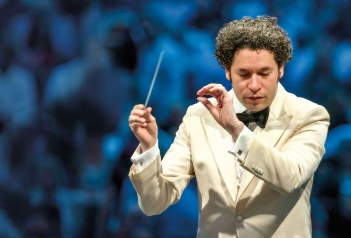 Gustavo Dudamel conducts the L.A. Phil at the Hollywood Bowl