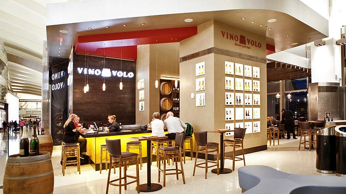 Vino Volo at LAX Tom Bradley International Terminal