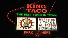King Taco sign