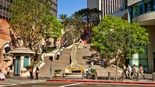 Bunker Hill Steps in Downtown L.A.