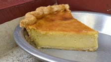 Maple custard pie at The Pie Hole