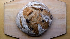 Olive bread at Seed Bakery