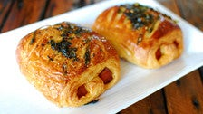 Spam musubi croissants by Sugarbloom Bakery