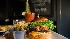The Teragram Burger at Cafe Teragram