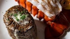 Three-course prix fixe with Filet Mignon & Lobster Tail at Fleming's