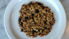 Oatmeal currant cookie at Proof Bakery