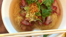Ba mee moo daeng at Siam Sunset