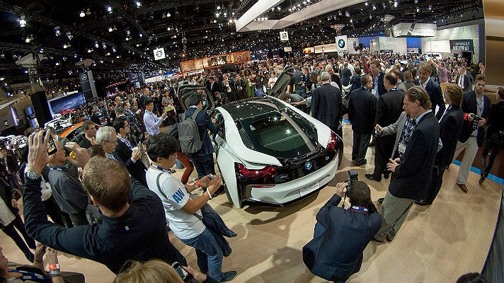 Los Angeles Auto Show at Los Angeles Convention Center