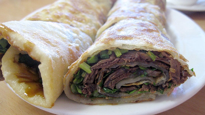 Beef Roll at 101 Noodle Express