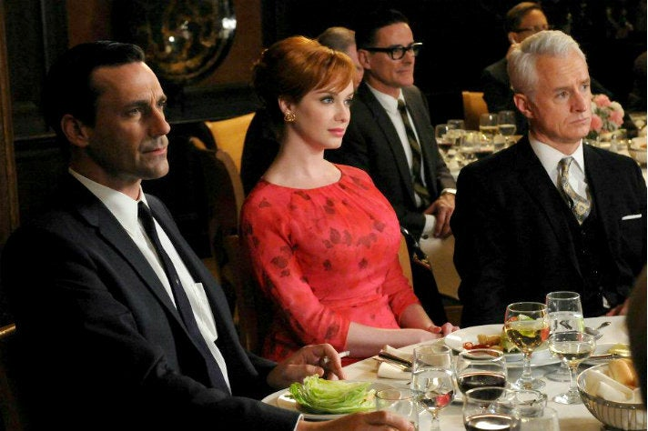 "Don, Joan and Roger at the Clio Awards from ""Mad Men"" Season Four"