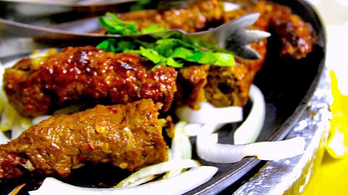 Seekh kebab at Al Watan