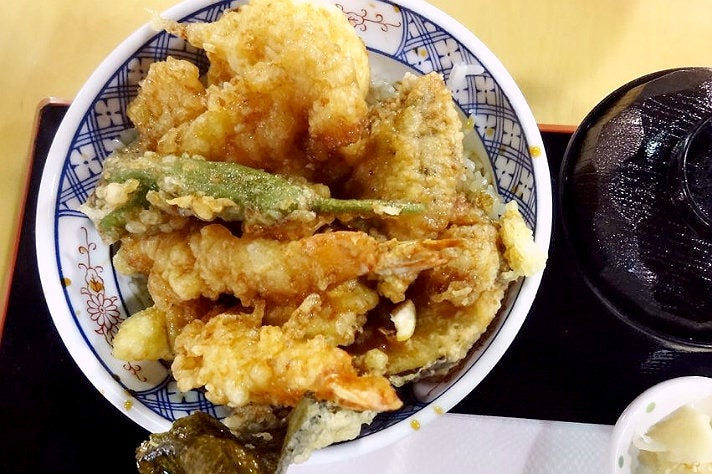 Tempura Don Bowl at Hannosuke