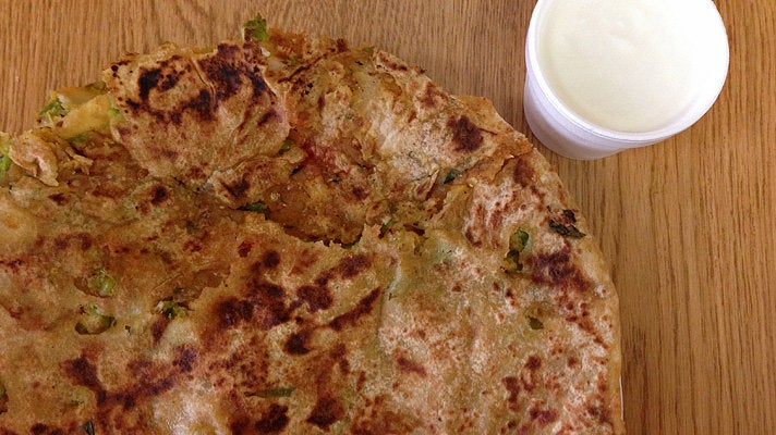 Paratha at India Sweet House