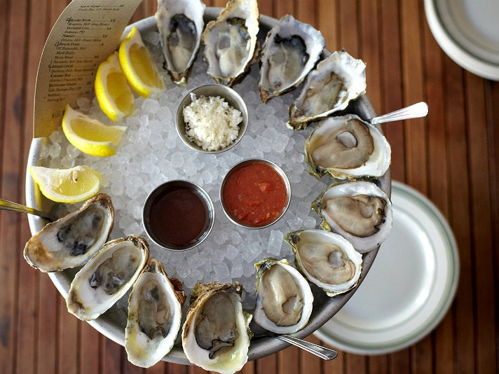 Daily dozen at L&E Oyster Bar