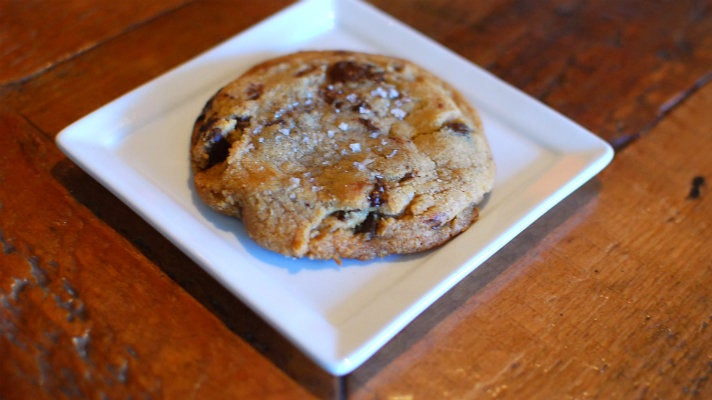 Chocolate chip cookie at Four Cafe