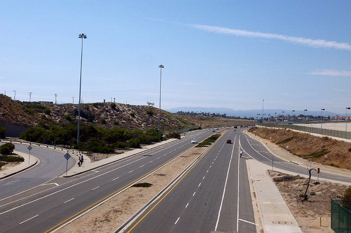 """South Pershing Drive at LAX from """"Independence Day"""""""