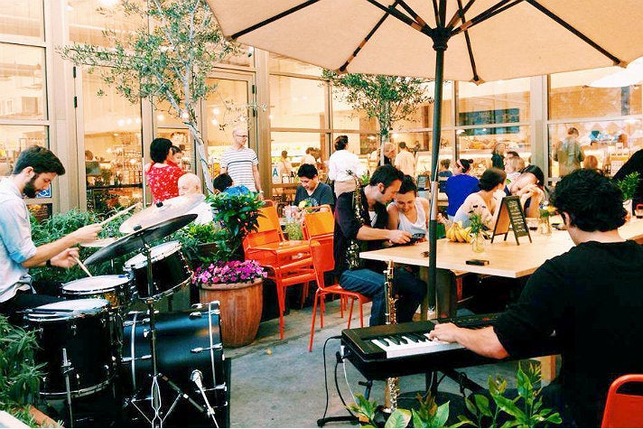 Wednesday night jazz at Urban Radish