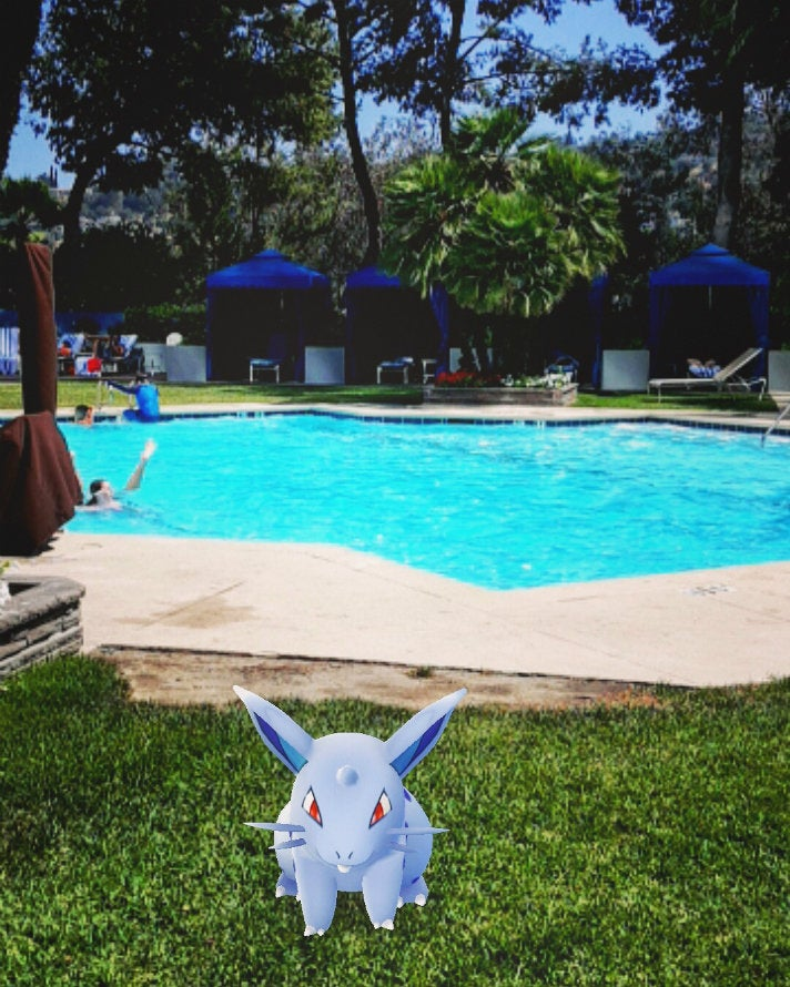 Pokémon Go at Hilton Los Angeles/Universal City