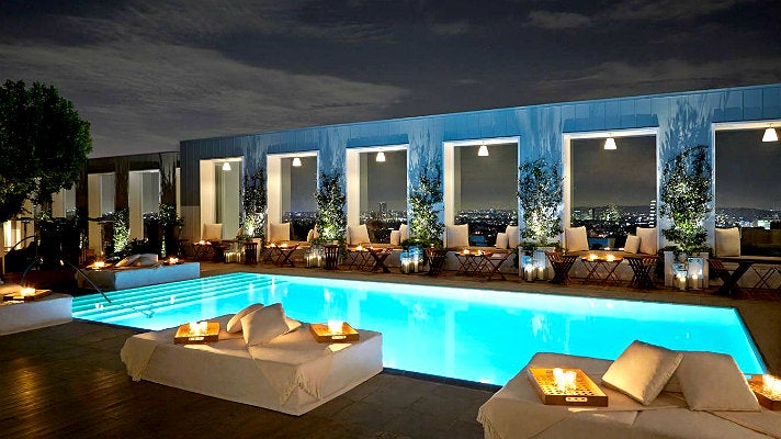 Skybar at The Mondrian Los Angeles