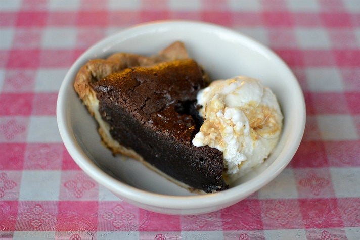 Chess pie at Bludso's Bar & Que