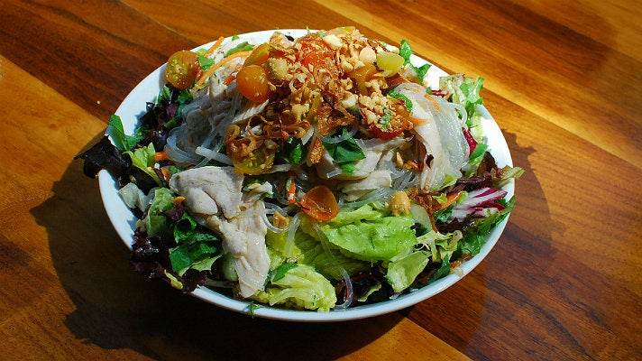Vietnamese chicken salad at Blue Cow Kitchen & Bar
