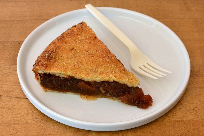 Cider-roasted apple pie at Cake Monkey Bakery