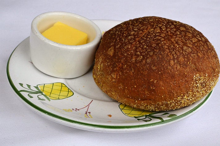 Anadama bread at Dolce Isola