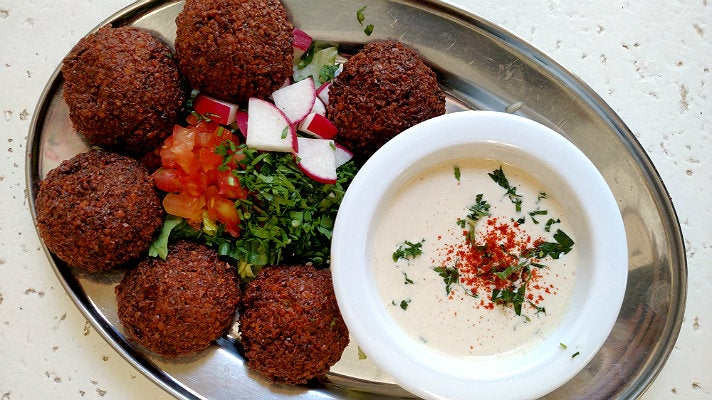 Falafel at Hayat's Kitchen | Photo by Joshua Lurie