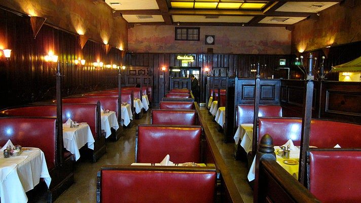 The Old Room at Musso & Frank Grill