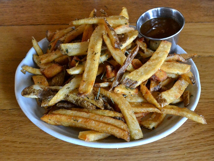 French fries at Salt's Cure
