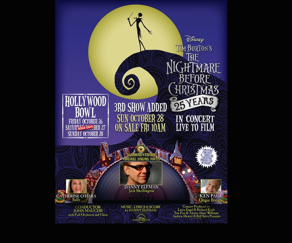 Danny Elfman: The Nightmare Before Christmas at the Hollywood Bowl