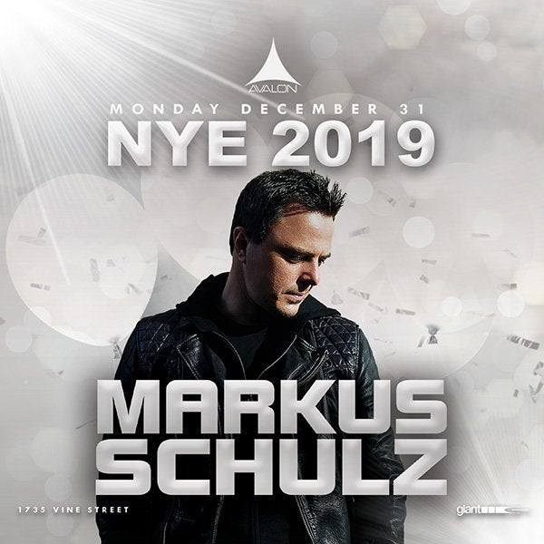Markus Schulz Open to Close NYE set at Avalon