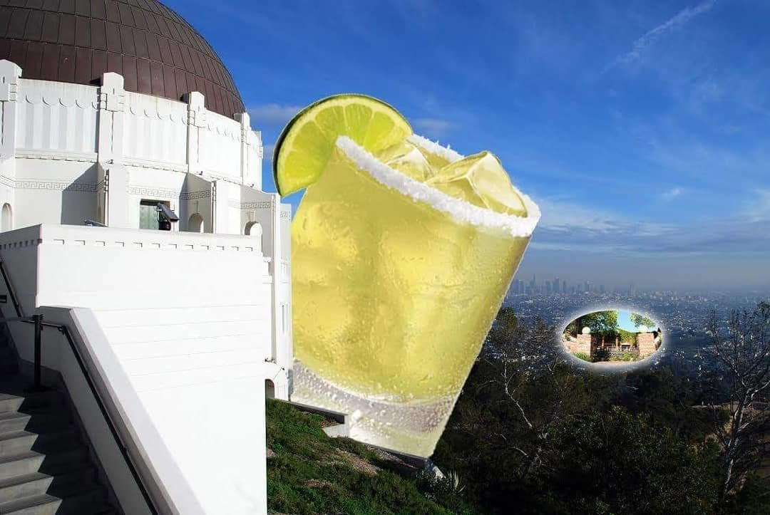 """The Biggest Margarita in Los Feliz"" at Big Bar"
