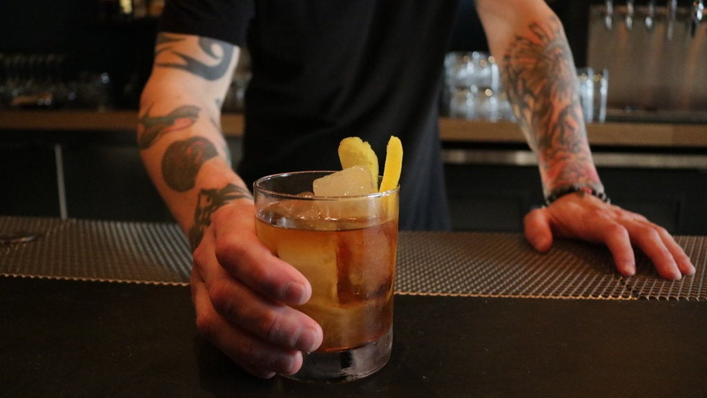Old Fashioned at Brack Shop Tavern