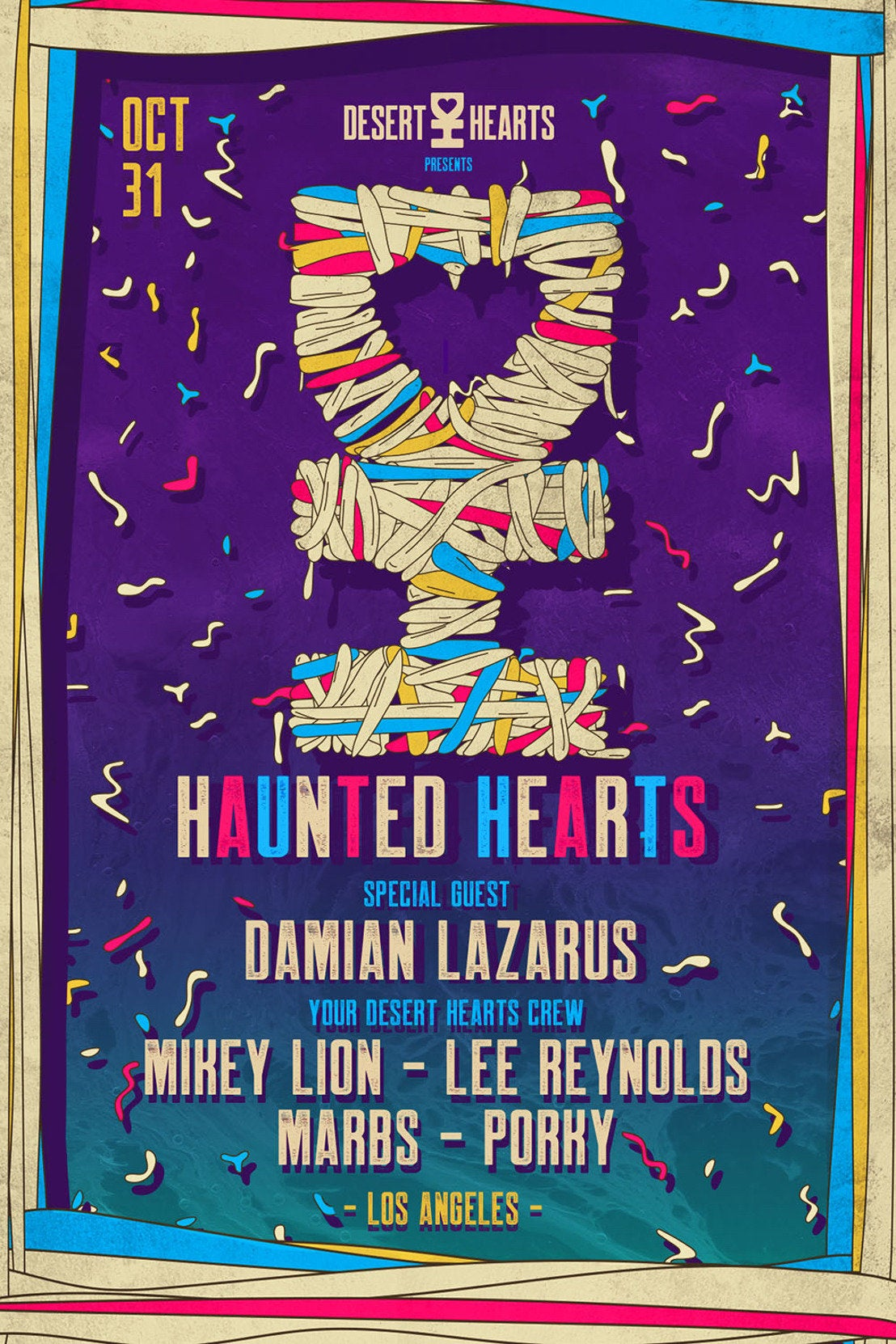 Haunted Hearts featuring Damian Lazarus at the Belasco Theatre