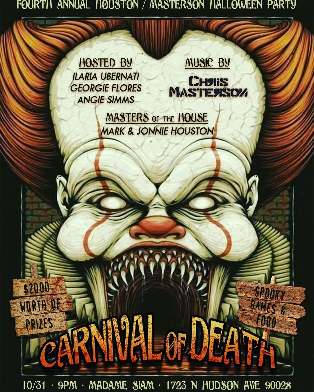 Carnival of Death at Madame Siam