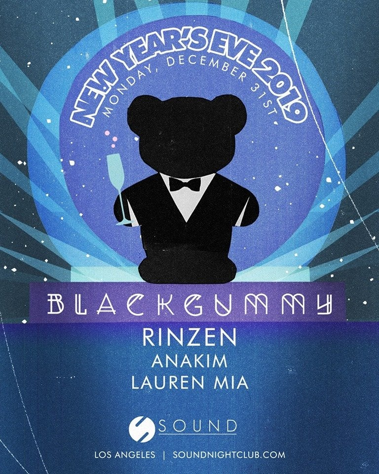 BlackGummy at Sound NYE 2019